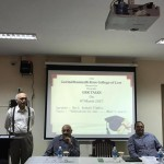 GRK Talks by Shri. Auduth Timblo on the topic, 'Education in Law…..What's Next?'