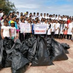 International Coastal Cleanup Day observed by NSS unit of G.R. Kare College of Law, Margao-Goa under the campaign 'Swachhta Hi Sewa'
