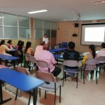 Counseling session conducted by Counselor Ms. Nisha Costa