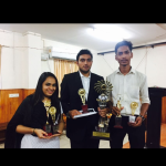 Team from Kare College of Law  won the third place at the 7th National Competition on Alternate Dispute Resolution Mechanism 2017 for Kelsa Rolling Trophy